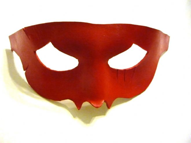 Genuine Handmade  Leather Crazy 88 style Mask (1)